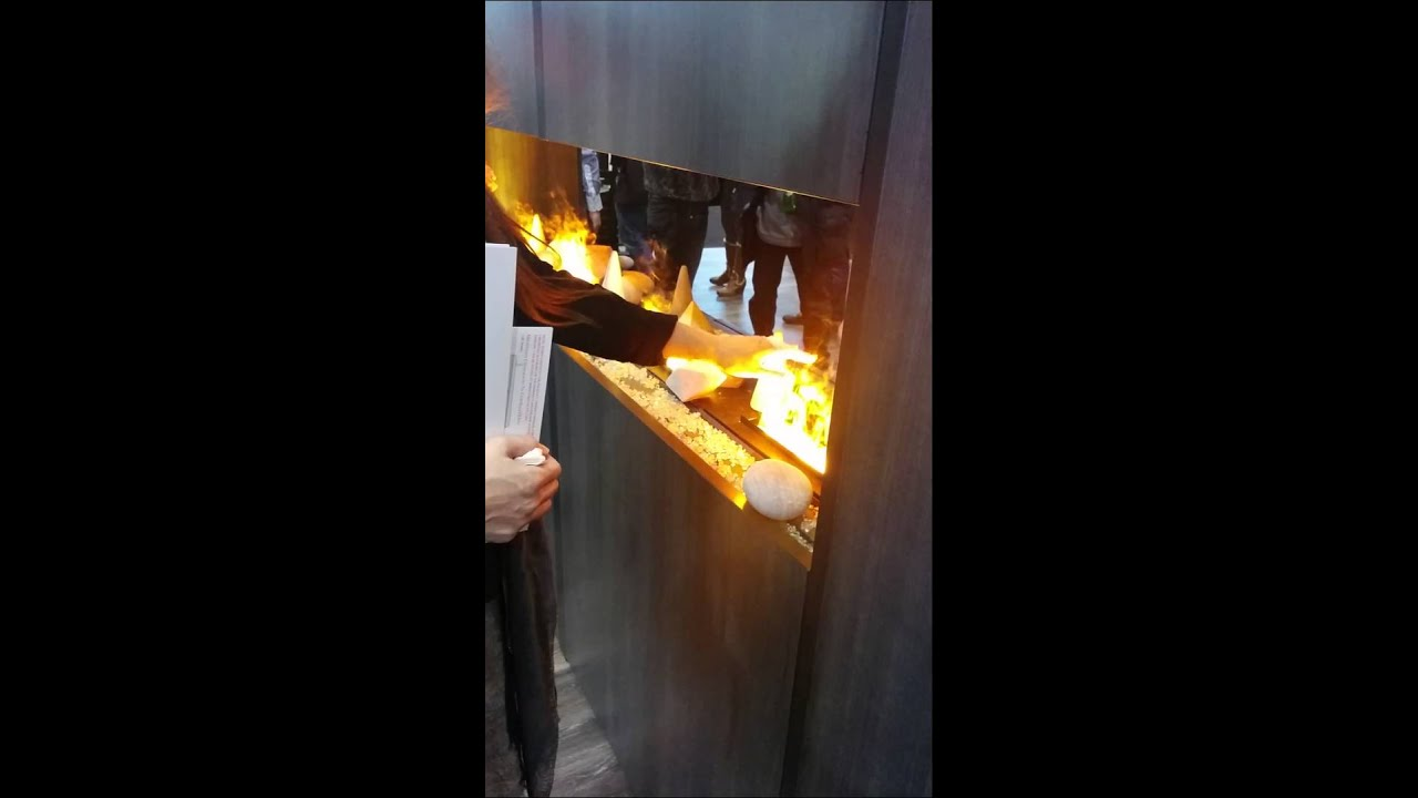Safe fireplace (the flame is vapor and light) - Safe Fireplace (the Flame Is Vapor And Light) - YouTube