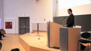 Kurzvortrag: Professor Ulf J. Timm