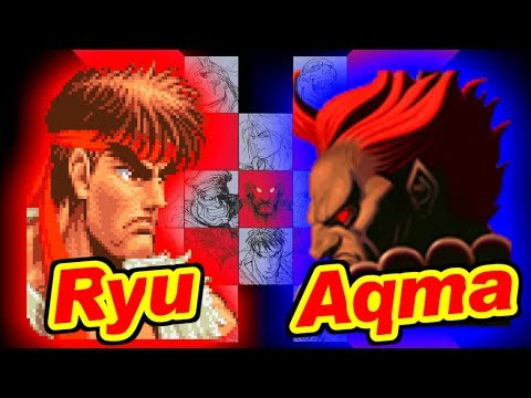 リュウ vs 最凶豪鬼 - スーパーストリートファイターII X for 3DO