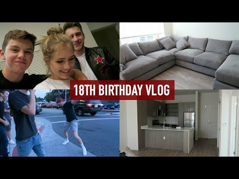 MY 18TH BIRTHDAY/MOVING INTO MY APARTMENT!   Mel Joy Vlogs