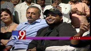 AV on SS Thaman @ Winner Pre Release Event - TV9