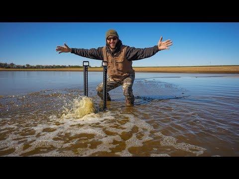 Duck Hunting Frozen Ponds Just Got Way Easier!!