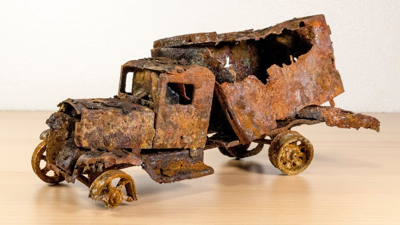 Download Restoration extreme rusty abandoned 1931´s car truck