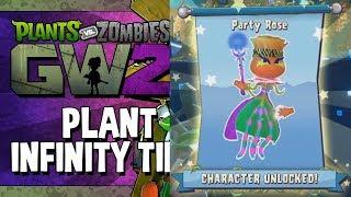 Растения против Зомби Садовая Война 2 - ВЫПАЛА ЛЕГЕНДАРКА Party Rose @ Infinity Time