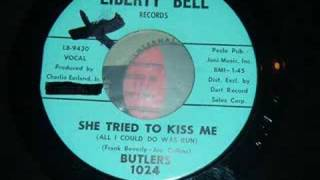 Rare Northern Soul Dancer - Butlers - She Tried To Kiss Me