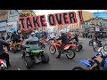 DIRTBIKES AND ATV'S TAKE OVER ! (OMG)