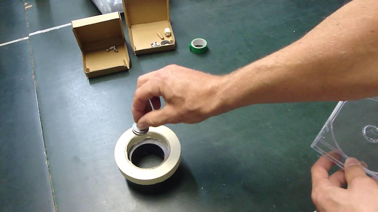 der schwebende kreisel magnet - eine echte herausforderung - wer