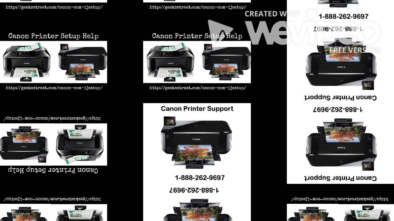 Canon com/ijsetup canon printer setup support1-888-262-9697