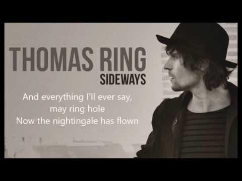 Thomas Ring  - Last to know (Lyrics)