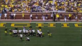 2007: Appalachian State v. Michigan (Drive-Thru)