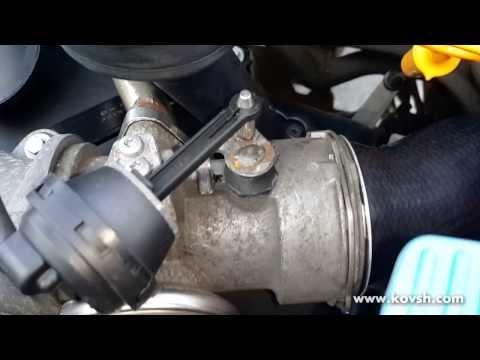 Восстановленная дроссельная заслонка Volkswagen