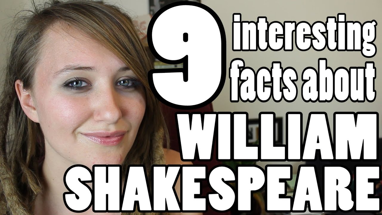 9 Interesting Facts About Shakespeare - YouTube
