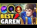 THE BEST WAY TO PLAY GAREN IN SEASON 9! SOLO CARRY ANY GAME WITH THIS STRATEGY! - League of Legends