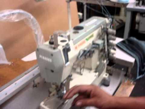 Pegasus W40 YouTube New Pegasus Flatlock Sewing Machine