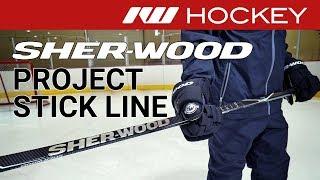Sherwood Project 9 Stick Line // On-Ice Insight