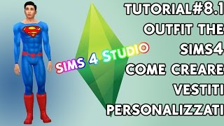 Tutorial #8.1 - Outfit in the sims 4. come creare materiale personalizzato