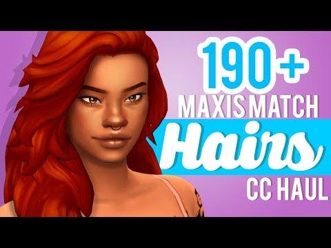 190+-maxis-match-hairs-+-links-|-the-sims-4-cc-shopping-haul