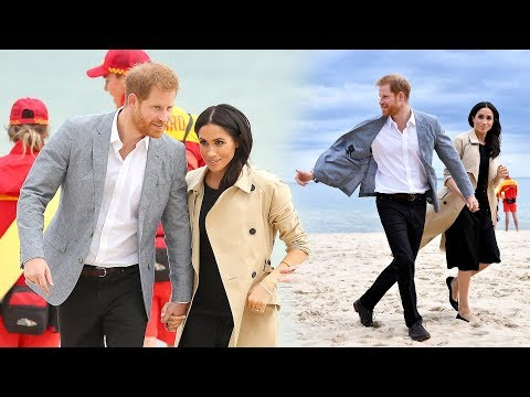The Duke & Duchess of Sussex are keeping the beach clean - and looking stylish while doing it!