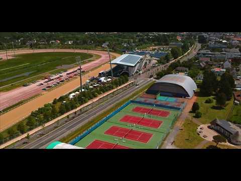Le Ninon Tennis Club vu du ciel - Dji Spark drone footage