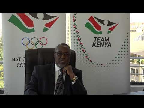 Waithaka Kioni - Team Kenya 2020 Olympic games CDA