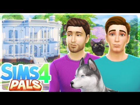MOVING TO A GIANT HOUSE! - Sims 4 Pals