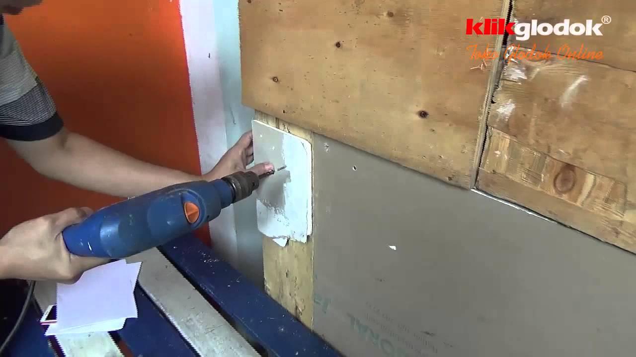 harga baut baja ringan 1 dus cara memasang papan gypsum dengan youtube