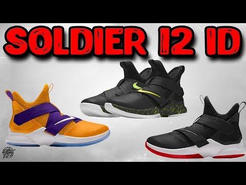 Customizing The Nike Lebron Soldier 12 On NikeID!