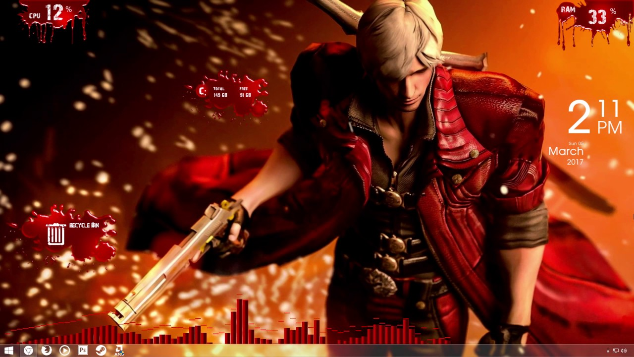 Devil May Cry Video Wallpaper By Akiba Illusion Youtube