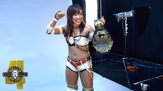 Kairi Sane is elated by her NXT Women's Title photo shoot: WWE Exclusive, Aug. 18, 2018 thumbnail