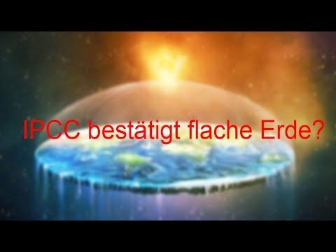 Weltklimarat Bestätigt Existenz Der Flachen Erde? - IPCC Rechnet Mit Modell Der Flachen Erde