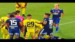 Universidad de Chile 3 vs San Luis 0 (16 febrero 2018)