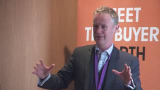 Meet the Buyer North 2018, Presentation by Scott Bell, Scottish Government.
