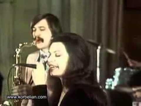 Tatevik Oganesyan & Konstantin Orbelyan Orchestra Live Jazz (1974, Armenia, USSR)