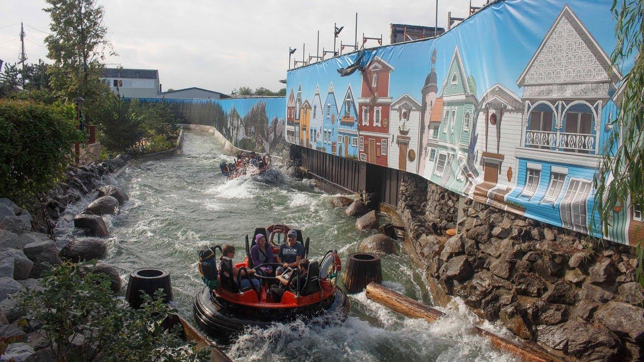 Fjord Rafting 2 Wochen Nach Dem Brand Im Europa Park Youtube
