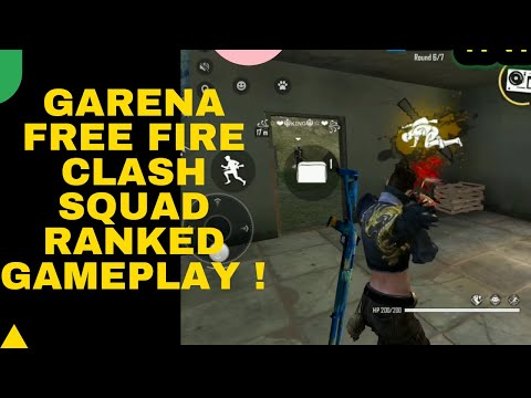 Garena Free Fire Clash Squad Ranked Gameplay ! | INFO SPOT