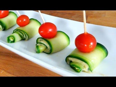 Cucumber Hummus Appetizer (BEST FINGER FOOD!) - Inspire to Cook
