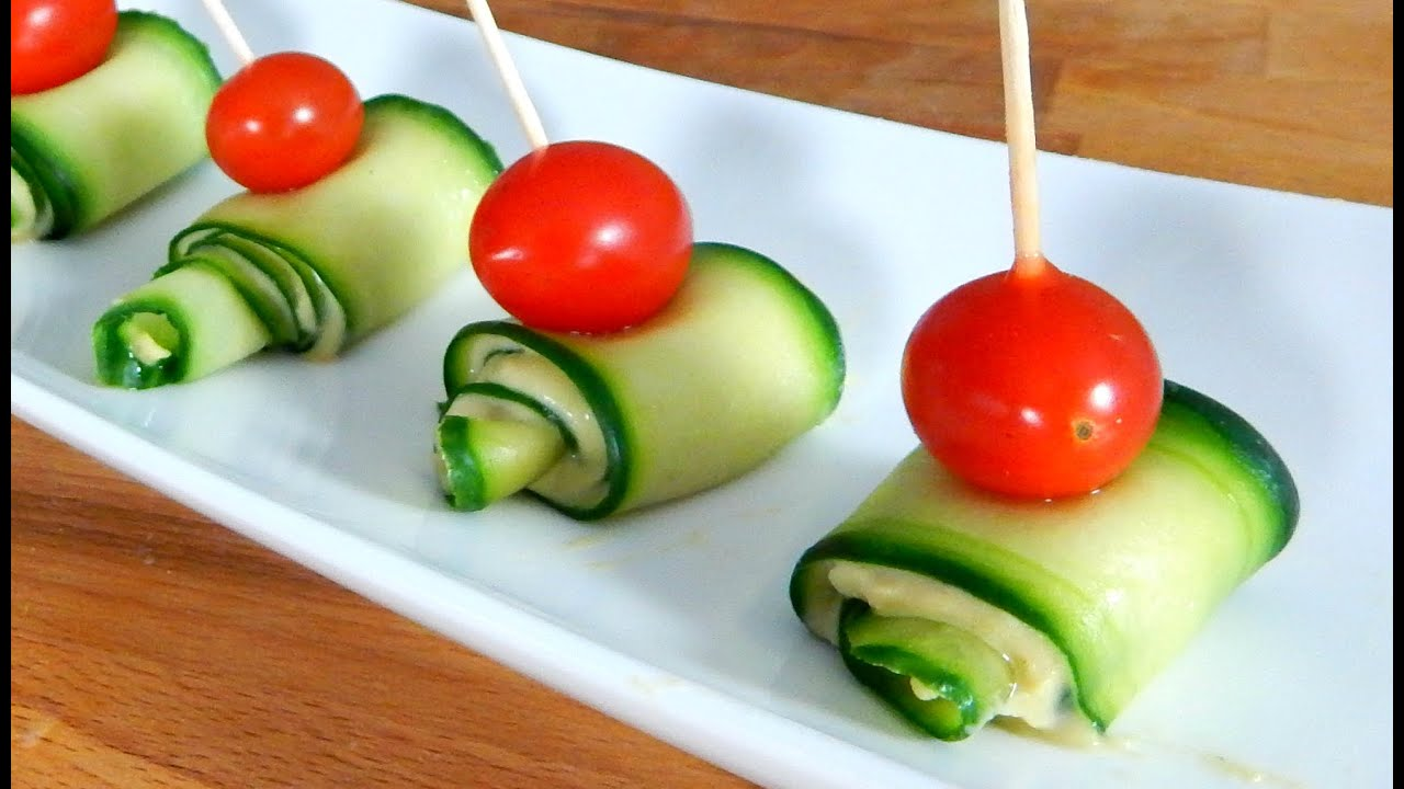 Cucumber hummus appetizer best finger food inspire to cook cucumber hummus appetizer best finger food inspire to cook youtube forumfinder Image collections