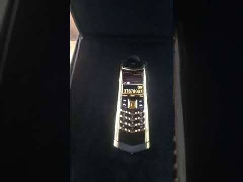 Review vertu signature s gold limited 0937678907