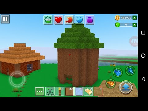 Exploration Lite Craft 'CanadaDroid' Android Gameplay #16 | Learn How To Make A Beautiful Tree House