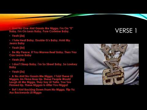Yella Beezy -That's On Me (Official Lyrics)