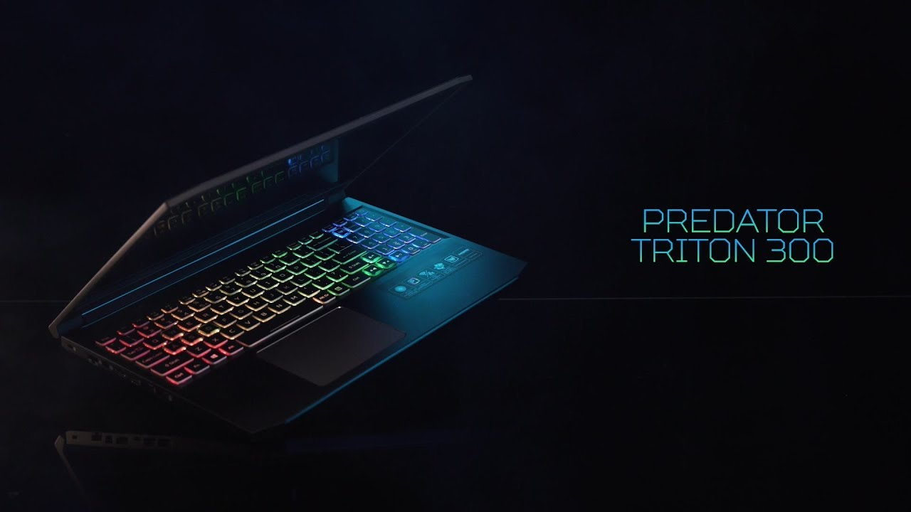 First Look Triton 300 Gaming Laptop Battle Forged