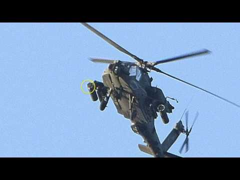 Low-Flying Military Choppers, Lots of Tanks On the Move In Washington State