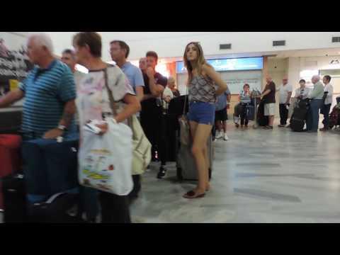 Крит. Ираклион. Аэропорт Nikos Kazantzakis 1 из 4