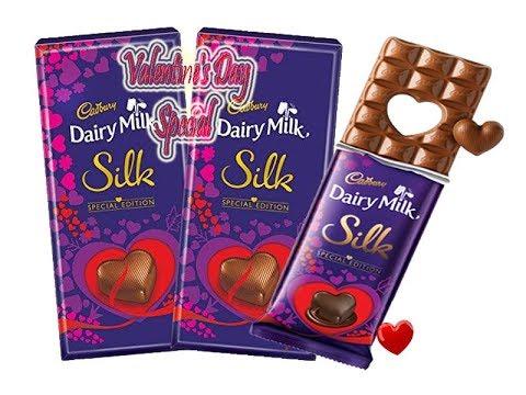 Cadbury Dairy Milk Silk Valentine S Special Edition Gift Youtube