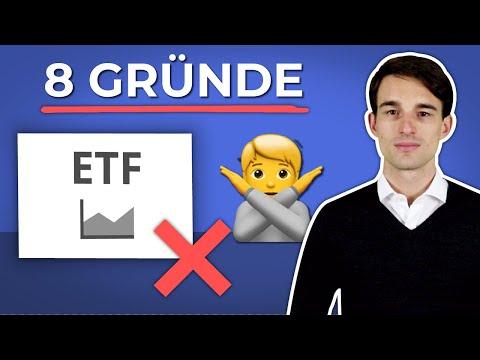 8 Gründe NICHT in ETF zu investieren | Finanzfluss