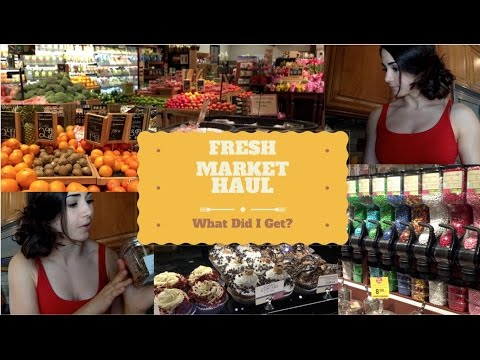 Fresh Market Haul: What Did I Get & Why?