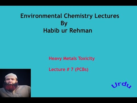 Quetta tv, Environmental chemistry lectures, heavy metals, PCBs