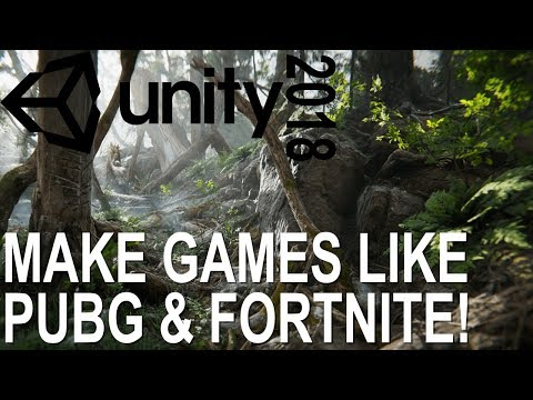 How To Download & Install UNITY 2018 | Create Games Like PUBG & Fortnite For FREE!