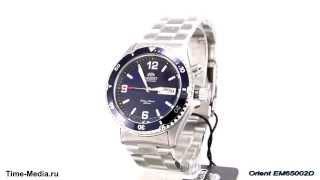 видео Часы наручные мужские механические с автоподзаводом ориент