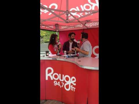 Louis-Jean Cormier à RougeFm 94,7 Mauricie